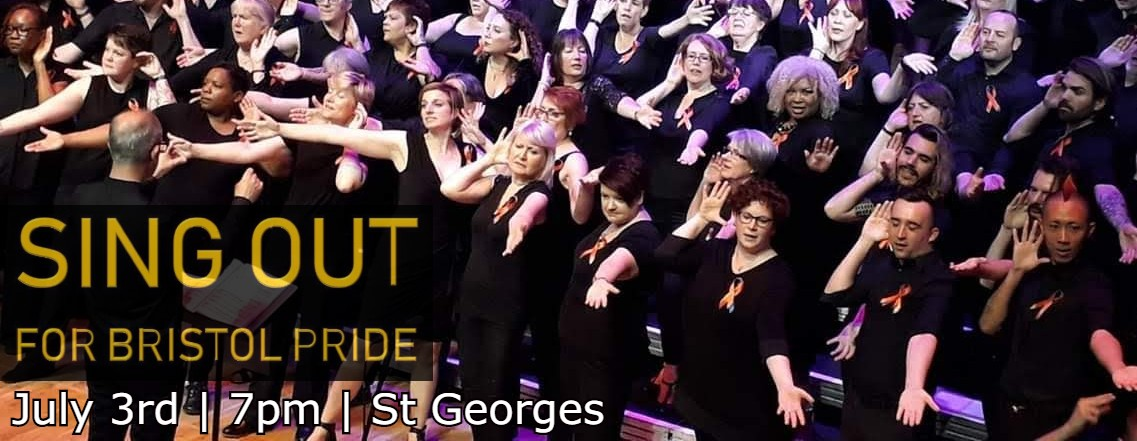 Sing Out for Bristol Pride 2019